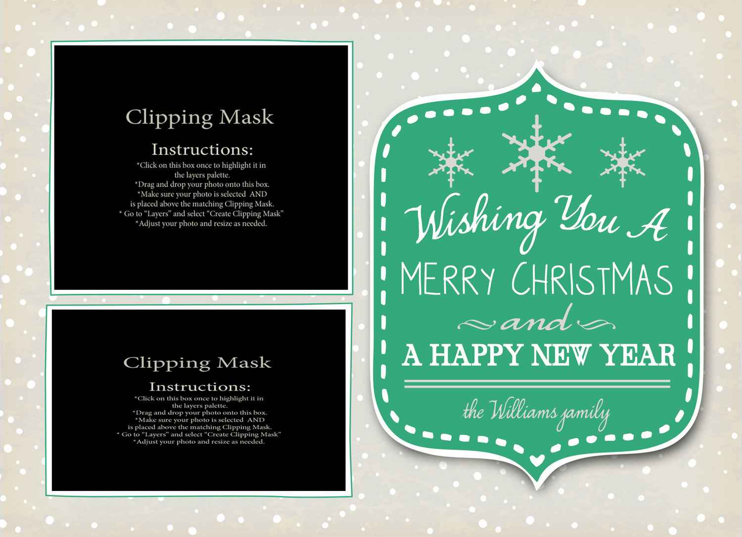 Sample holiday cards tanya bissaillon photography sample holiday cards kristyandbryce Images